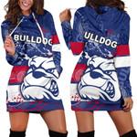 Western Bulldogs Hoodie Dress TH4