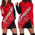 Bombers Women Hoodie Dress TH4