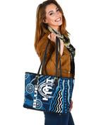 Carlton Blues Small Leather Bag Aboriginal TH4