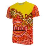 Gold Coast T-Shirt Sun Aboriginal