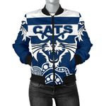 Cats Bomber Jacket For Women TH4
