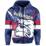 Western Bulldogs Zip-Hoodie