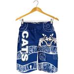 Cats All Over Print Men's Shorts Aboriginal