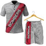 Combo Polo Shirt and Men Short Essendon Bombers
