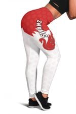 Sydney Women Leggings Swans