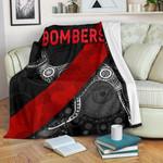 Essendon Premium Blanket Indigenous Bombers - Black K8