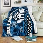 Carlton Blues Premium Blanket Aboriginal
