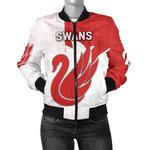 Sydney Bomber Jacket Swans For Women K8