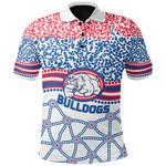 Western Bulldogs Polo Shirt Indigenous TH5