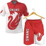 Combo Polo Shirt and Men Short Sydney Swans