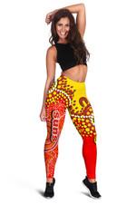 Gold Coast Women's Leggings Sun Aboriginal