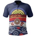 Western Bulldogs Polo Shirt Aboriginal