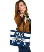 Cats Small Leather Bag TH4