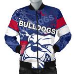 Western Bulldogs Bomber Jacket For Men TH4