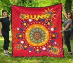 Gold Coast Premium Quilt Suns Indigenous K8