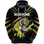 Richmond Zip Hoodie Tigers K8