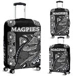 Magpies Luggage Cover Aboriginal TH4