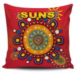 Gold Coast Pillow Covers Suns Indigenous K8