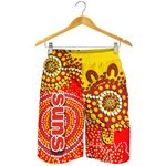 Gold Coast All Over Print Men's Shorts Sun Aboriginal