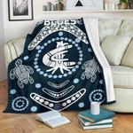 Carlton Premium Blanket The Blue Baggers Indigenous