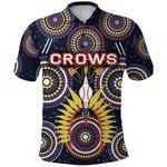 Adelaide Polo Shirt Original Indigenous Crows