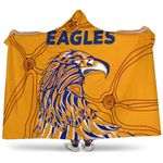West Coast Hooded Blanket Eagles Indigenous TH5