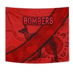 Essendon Tapestry Indigenous Bombers - Red K8