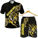 Combo Polo Shirt and Men Short Richmond Power Tigers Indigenous