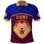 Brisbane Lions Polo Shirt Powerful