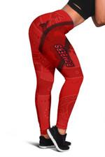 Essendon Women Leggings Indigenous Bombers - Red