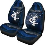 Carlton Car Seat Covers Blues Free Style Indigenous