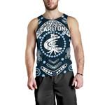 Carlton Men's Tank Top The Blue Baggers Indigenous TH5