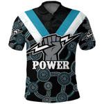 Port Adelaide Polo Shirt Power K4