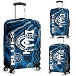 Carlton Blues Luggage Cover Aboriginal