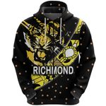 Richmond Zip Hoodie Tigers Dotted