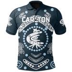 Carlton Polo Shirt The Blue Baggers Indigenous TH5