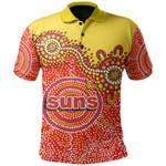 Gold Coast Polo Shirt Sun Aboriginal