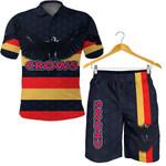 Combo Polo Shirt and Men Short Adelaide Original Crows