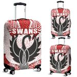 Sydney Luggage Covers Indigenous Swans