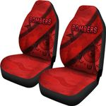 Essendon Car Seat Covers Indigenous Bombers - Red
