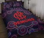 Demons Quilt Bed Set
