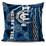Carlton Blues Pillow Cover Aboriginal TH4