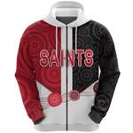 Saints Zip Hoodie Indigenous