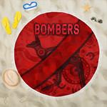 Essendon Beach Blanket Indigenous Bombers - Red K8