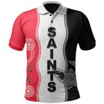 ST Kilda Polo Shirt Aboriginal
