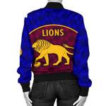 Brisbane Lions Women Bomber Jacket Powerful K8