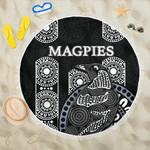 Magpies Beach Blanket Aboriginal TH4