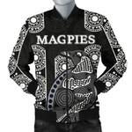 Magpies Men's Bomber Jacket Aboriginal TH4