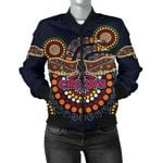 Adelaide Bomber Jacket For Women Indigenous Crows K8