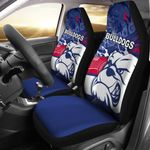 Western Bulldogs Car Seat Cover TH4